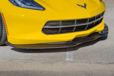 Corvette - Side Skirts - TruFiber - Chevy Corvette TruFiber LG213 Chin Spoiler TF30221-LG213