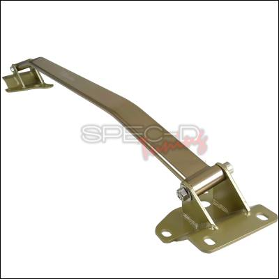 Suspension - Strut Bars - Spec-D - Nissan 350Z Spec-D Front Stut Tower Brace - Gold - SB-350Z03GD-TS
