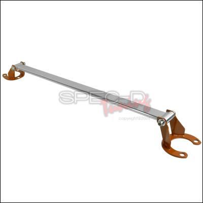 Suspension - Strut Bars - Spec-D - Honda Accord Spec-D Front Stut Tower Brace - Orange - SB-ACD90O-TS