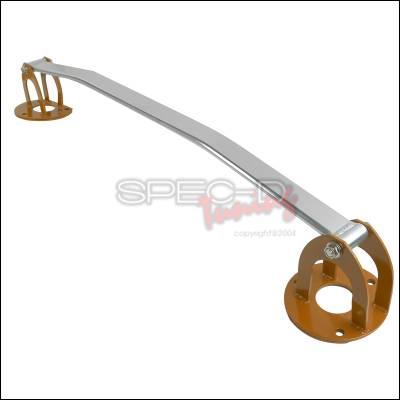 Suspension - Strut Bars - Spec-D - Lexus IS Spec-D Front Stut Tower Brace - Orange - SB-IS30001O-TS