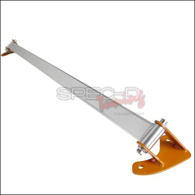 Suspension - Strut Bars - Spec-D - Toyota Corolla Spec-D Rear Stut Tower Brace - Orange - SBR-COR84O-TS