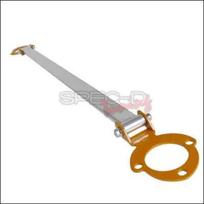 Suspension - Strut Bars - Spec-D - Lexus IS Spec-D Rear Stut Tower Brace - Orange - SBR-IS30001O-TS