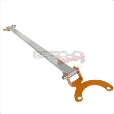 Suspension - Strut Bars - Spec-D - Acura RSX Spec-D Rear Stut Tower Brace - Orange - SBR-RSX02O-TS