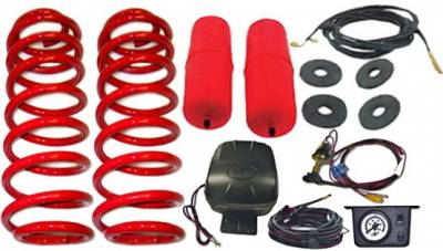 Suspension - Suspension Systems - Strutmasters - Lincoln Navigator Strutmasters Rear Coil Spring Conversion with Air Lift Load Leveling Kit & Controller - XN44-R1-LLK