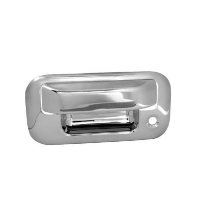Suv Truck Accessories - Tail Gate Lock - Spyder - Ford F250 Superduty Spyder Tailgate Handle - Chrome - CA-TGH-FF15004