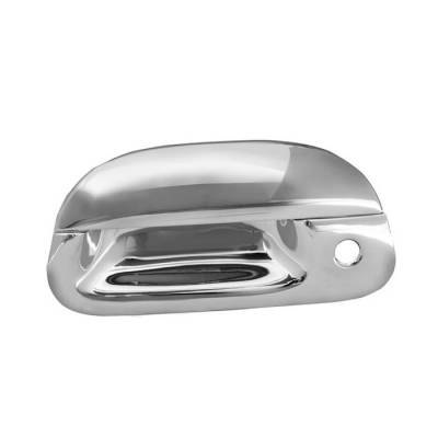 Suv Truck Accessories - Tail Gate Lock - Spyder - Ford F250 Superduty Spyder Tailgate Handle - Chrome - CA-TGH-FF15097
