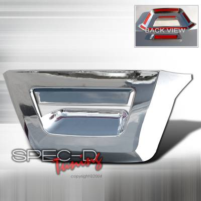 SUV Truck Accessories - Tail Gate Lock - Spec-D - Chevrolet Avalanche Spec-D Tailgate Handle - Chrome - DRH-AVA07RBC