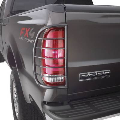 Headlights & Tail Lights - Tail Light Covers - Sportsman - Jeep Grand Cherokee Sportsman Taillight Guards - 39-3125