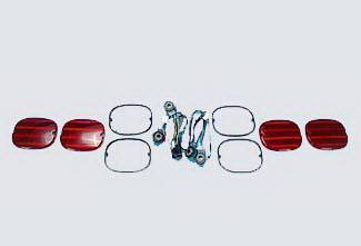 Headlights & Tail Lights - Tail Light Covers - Street Scene - GMC CK Truck Street Scene Taillight Lens Kit for ZR1 Style Roll Pan - 950-70990
