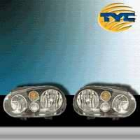 Headlights & Tail Lights - Tail Lights - TYC - TYC Euro Taillights with Black Housing - 80647340