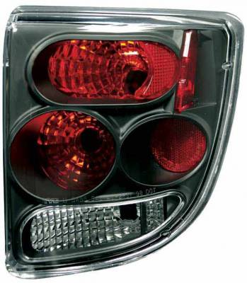 Headlights & Tail Lights - Tail Lights - TYC - TYC Euro Taillights with Black Housing - 81545541