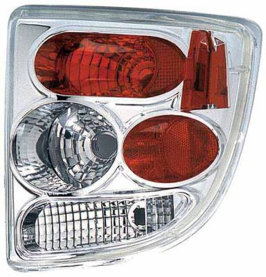 Headlights & Tail Lights - Tail Lights - TYC - TYC Clear Euro Taillights - 81545591