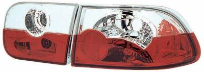 TYC - TYC Clear Euro Taillights - 81551501