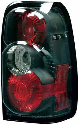 Headlights & Tail Lights - Tail Lights - TYC - TYC Euro Taillights with Black Housing - 81553940