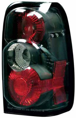 Headlights & Tail Lights - Tail Lights - TYC - TYC Euro Taillights with Black Housing - 81553941
