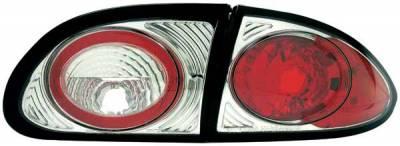 Headlights & Tail Lights - Tail Lights - TYC - TYC Chrome Euro Taillights - 81558301