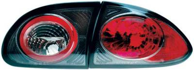Headlights & Tail Lights - Tail Lights - TYC - TYC Euro Taillights with Carbon Fiber Housing - 81558331