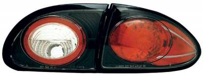 Headlights & Tail Lights - Tail Lights - TYC - TYC Euro Taillights with Black Housing - 81558341