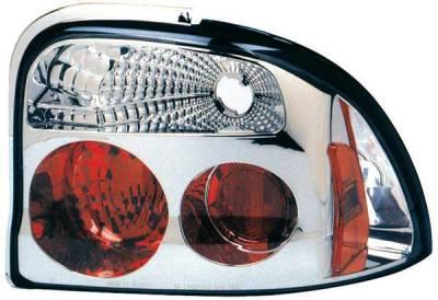 TYC - TYC Chrome Euro Taillights - 81558501