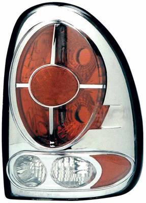 TYC - TYC Chrome Euro Taillights - 81558701