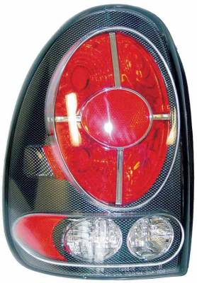 Headlights & Tail Lights - Tail Lights - TYC - TYC Euro Taillights with Carbon Fiber Housing - 81558731