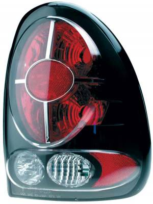 Headlights & Tail Lights - Tail Lights - TYC - TYC Euro Taillights with Black Housing - 81558741