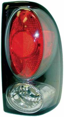 Headlights & Tail Lights - Tail Lights - TYC - TYC Euro Taillights with Black Housing - 81559941