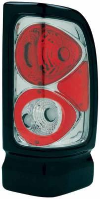 TYC - TYC Chrome Euro Taillights - 81560901