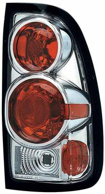 Headlights & Tail Lights - Tail Lights - TYC - TYC Chrome Euro Taillights - 81565701