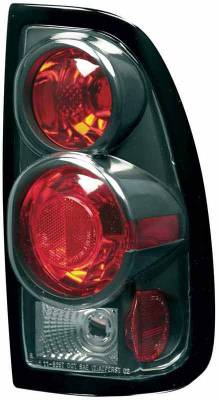 Headlights & Tail Lights - Tail Lights - TYC - TYC Euro Taillights with Black Housing - 81565741