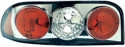 Headlights & Tail Lights - Tail Lights - TYC - TYC Chrome Euro Taillights - 81565901