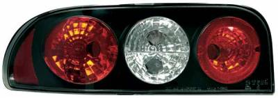 Headlights & Tail Lights - Tail Lights - TYC - TYC Euro Taillights with Black Housing - 81565941