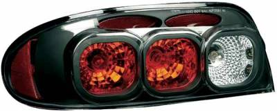 Headlights & Tail Lights - Tail Lights - TYC - TYC Euro Taillights with Black Housing - 81566140