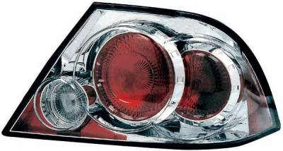 Headlights & Tail Lights - Tail Lights - TYC - TYC Chrome Euro Taillights - 81566900
