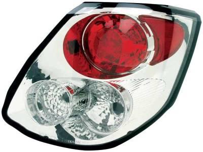 Headlights & Tail Lights - Tail Lights - TYC - TYC Chrome Euro Taillights - 81571501