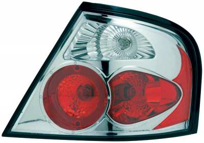 Headlights & Tail Lights - Tail Lights - TYC - TYC Chrome Euro Taillights - 81571900