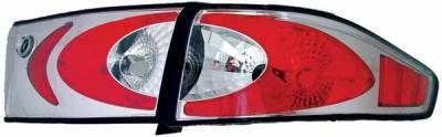 TYC - TYC Chrome Euro Taillights - 81580501