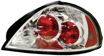 Headlights & Tail Lights - Tail Lights - TYC - TYC Chrome Euro Taillights - 81582300