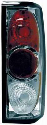 Headlights & Tail Lights - Tail Lights - TYC - TYC Chrome Euro Taillights - 81586101