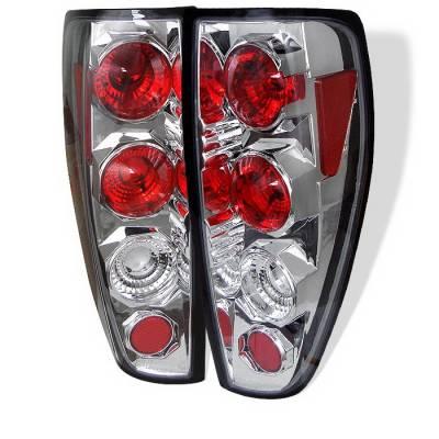 Headlights & Tail Lights - Tail Lights - Spyder Auto - GMC Canyon Spyder Altezza Taillights - Chrome - 111-CCK88G2-BSM