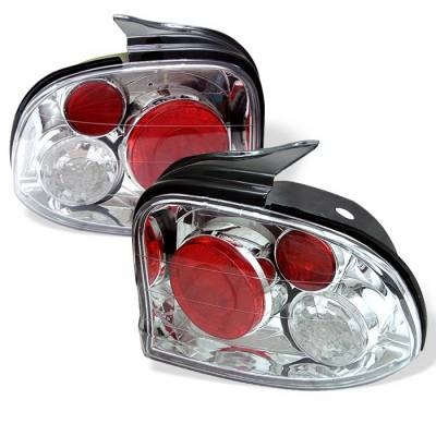 Headlights & Tail Lights - Tail Lights - Spyder Auto - Dodge Neon Spyder Altezza Taillights - Chrome - 111-DN03-C