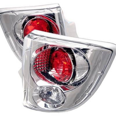Headlights & Tail Lights - Tail Lights - Spyder - Toyota Celica Spyder Euro Style Taillights - Chrome - 111-TCEL00-C
