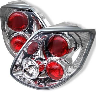 Headlights & Tail Lights - Tail Lights - Spyder - Toyota Matrix Spyder Euro Style Taillights - Chrome - 111-TMA03-C