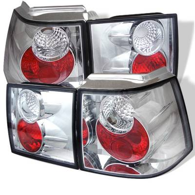 Headlights & Tail Lights - Tail Lights - Spyder - Volkswagen Corrado Spyder Euro Style Taillights - Chrome - 111-VC95-C