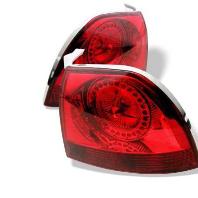 Headlights & Tail Lights - Tail Lights - Spyder Auto - Honda Accord Spyder LED Taillights - Red - ALT-YJ9495TLZ-RD-LED
