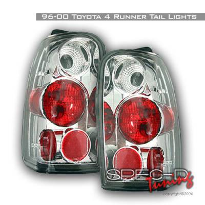 Headlights & Tail Lights - Tail Lights - Spec-D - Toyota 4Runner Spec-D Altezza Taillights - Chrome - LT-4RUN96-KS
