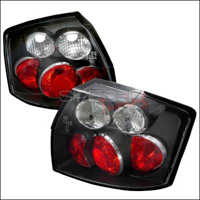 Headlights & Tail Lights - Tail Lights - Spec-D - Audi A4 Spec-D Altezza Taillights - Black - LT-A402JM-TM