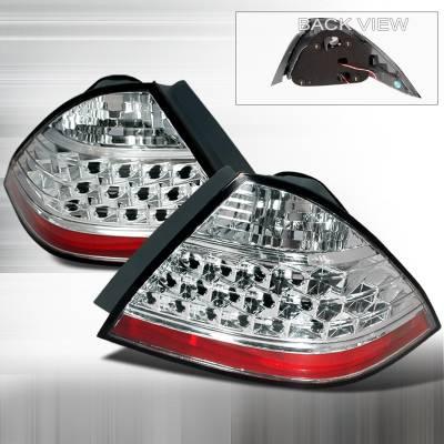 Headlights & Tail Lights - Tail Lights - Spec-D - Honda Accord Spec-D Altezza Taillights - Chrome - LT-ACD064-KS