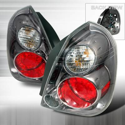 Headlights & Tail Lights - Tail Lights - Spec-D - Nissan Altima Spec-D LED Taillights - Chrome - LT-ALT02CLED-KS