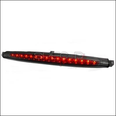 Headlights & Tail Lights - Tail Lights - Spec-D - Chevrolet Avalanche Spec-D LED Third Brake Lights - Smoke - LT-AVA07RBGLED-CY